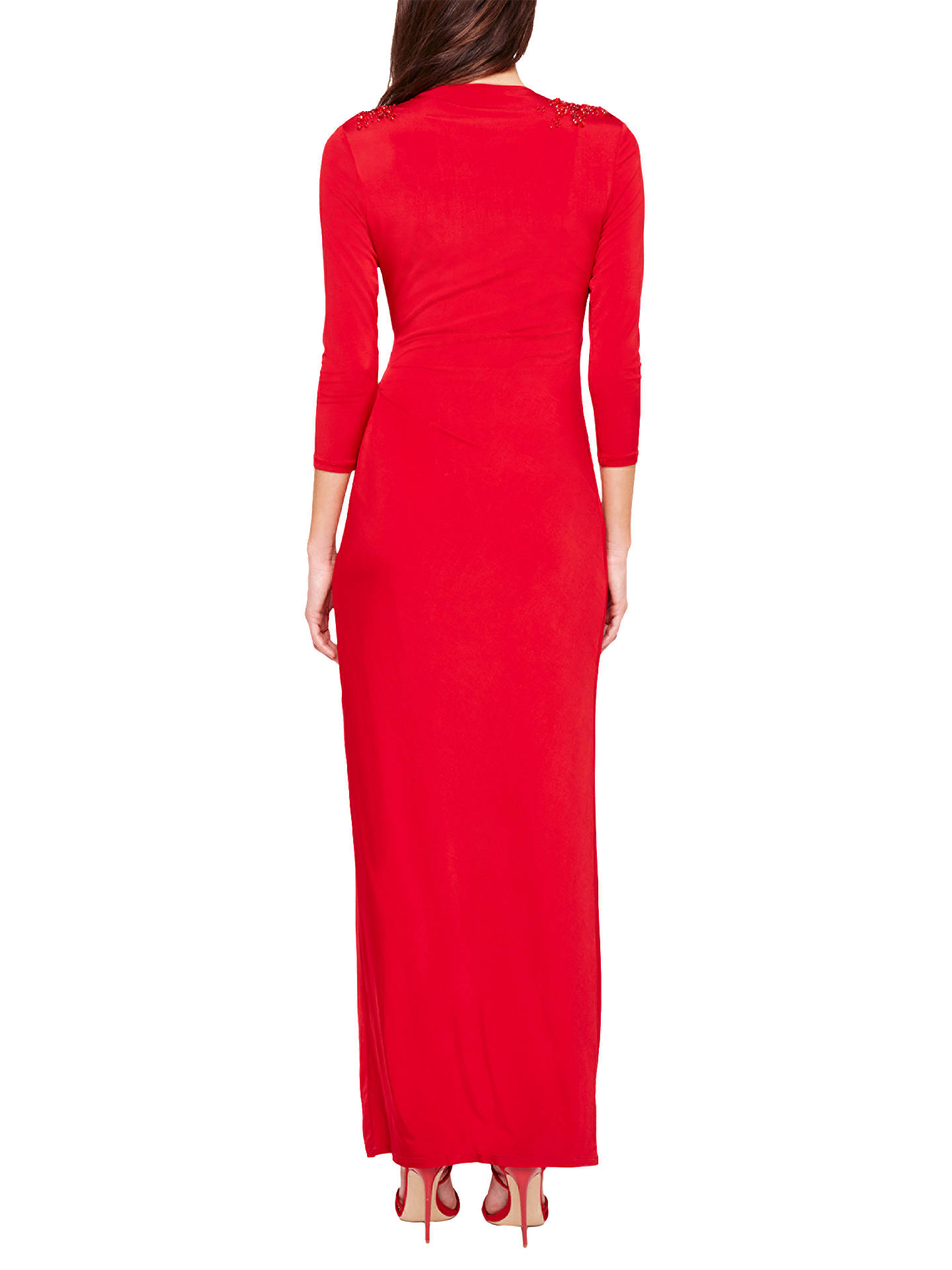 Buy Damsel in a Dress Samia Wrap Maxi Dress, Red, 8 Online at johnlewis.com