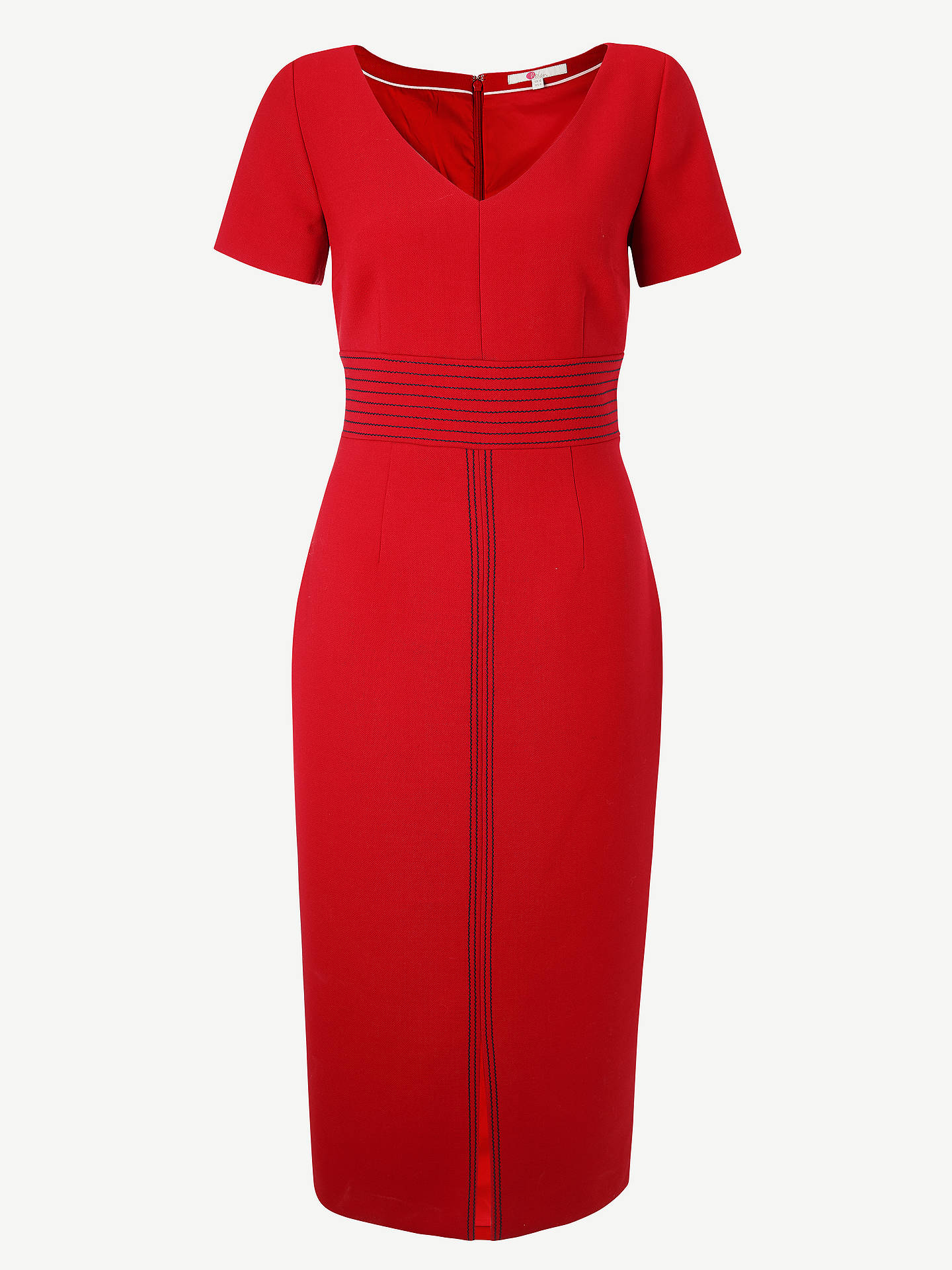 Buy Boden Winsford Midi Dress, Poinsettia, 18 Online at johnlewis.com