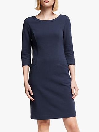 Boden Jasmine Ottoman Dress, Navy
