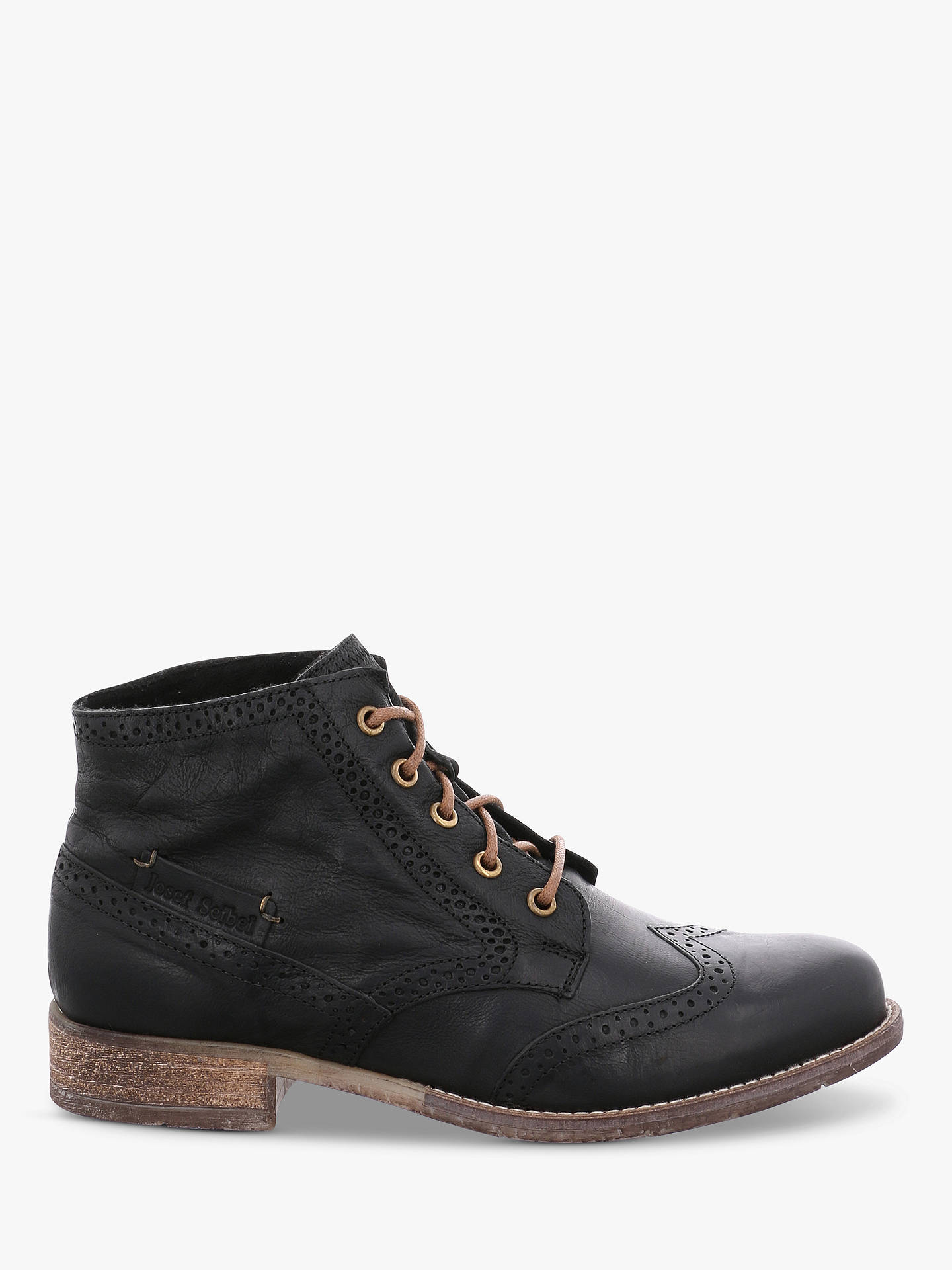 4b7c8b09b1f Josef Seibel Sienna 15 Lace Up Ankle Boots at John Lewis & Partners