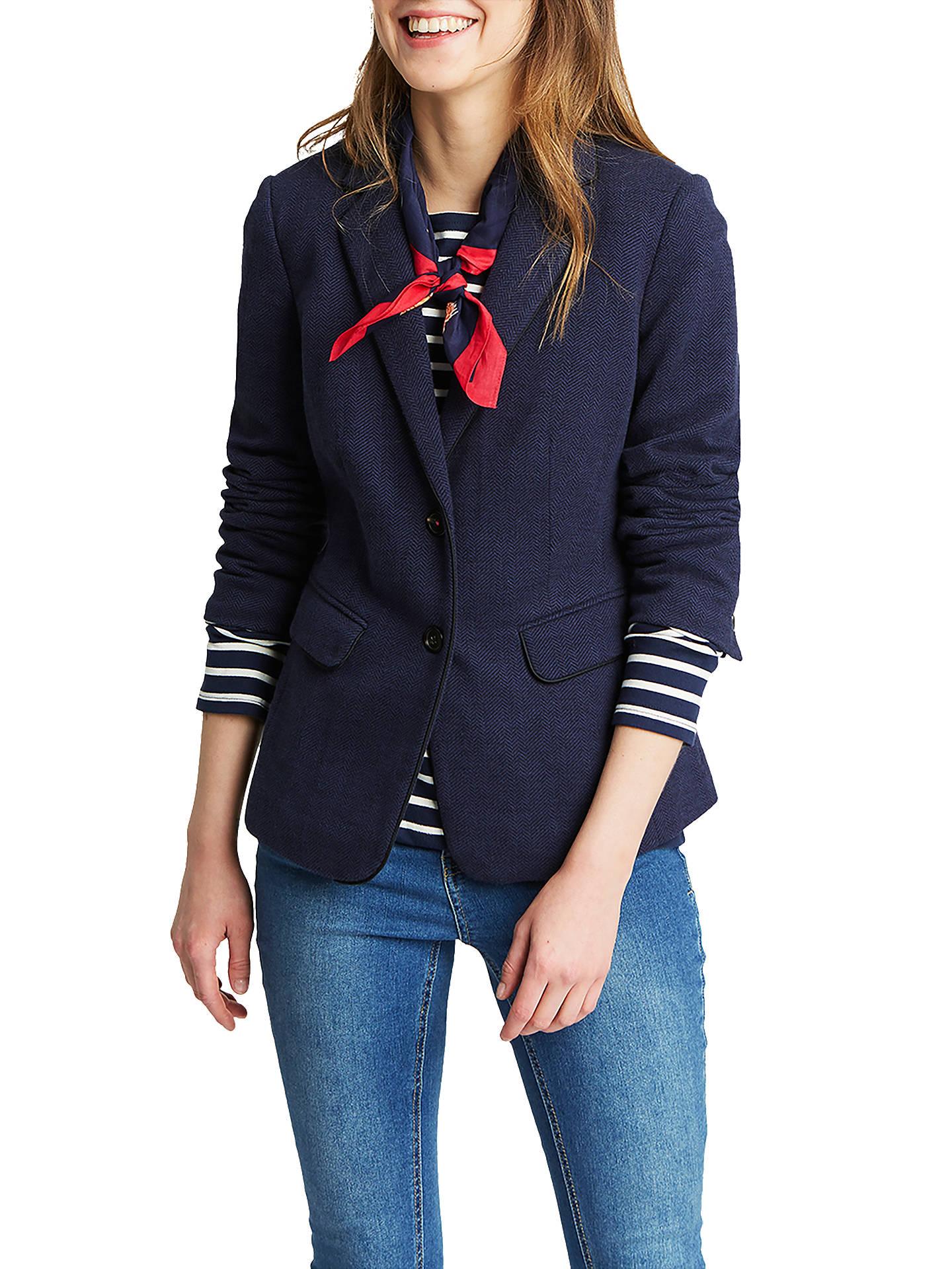 2c30a6de5 New Women's Clothing Joules Ladies Agatha Brown Cotton Blazer UK 12-16