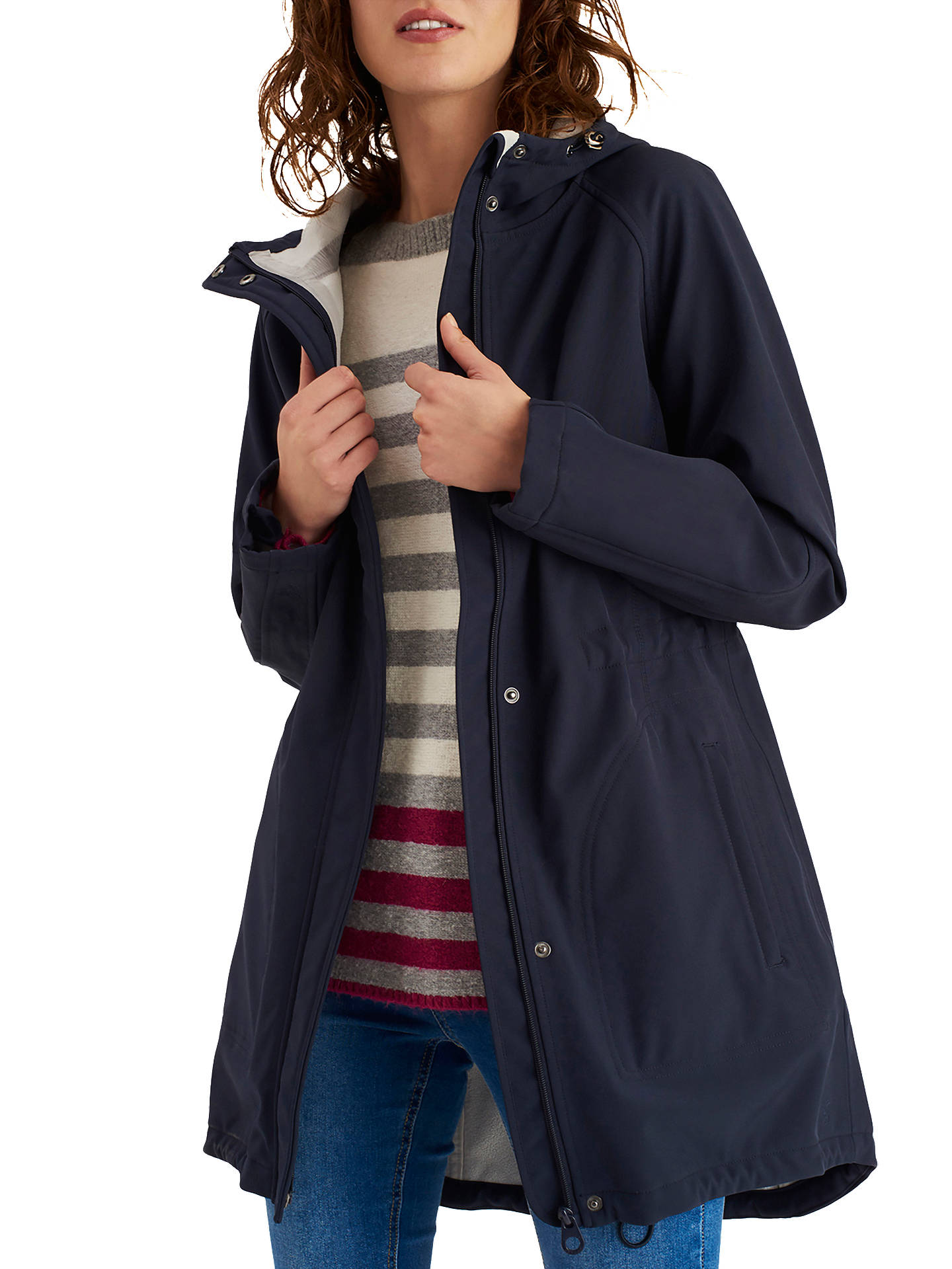 good texture best value various colors Joules Westport Waterproof Coat, Marine Navy at John Lewis ...