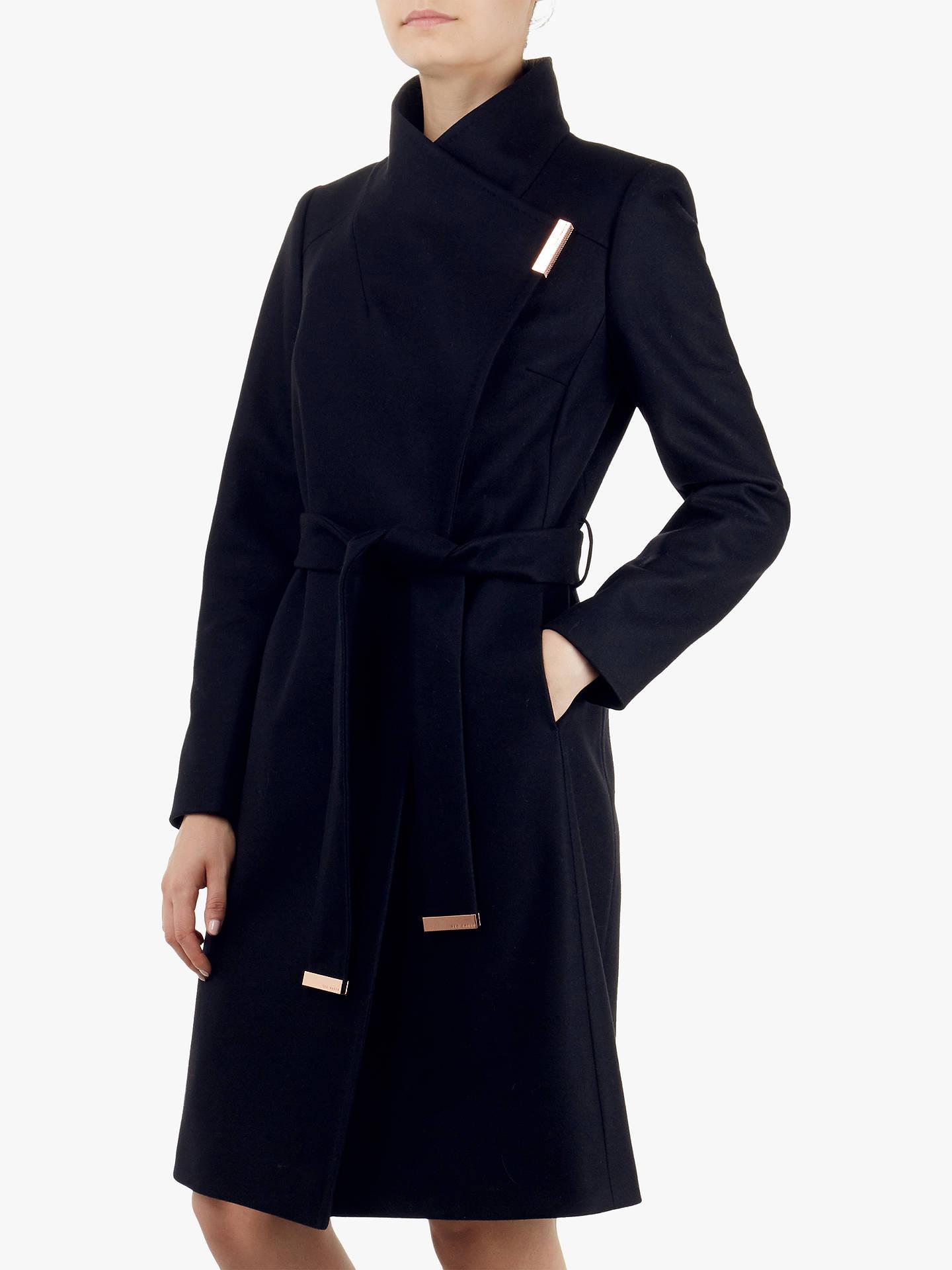 af240827d6da3 Buy Ted Baker Sandra Wrap Front Coat