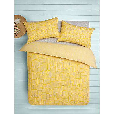 MissPrint Little Trees Cotton Duvet Cover and Pillowcase Set