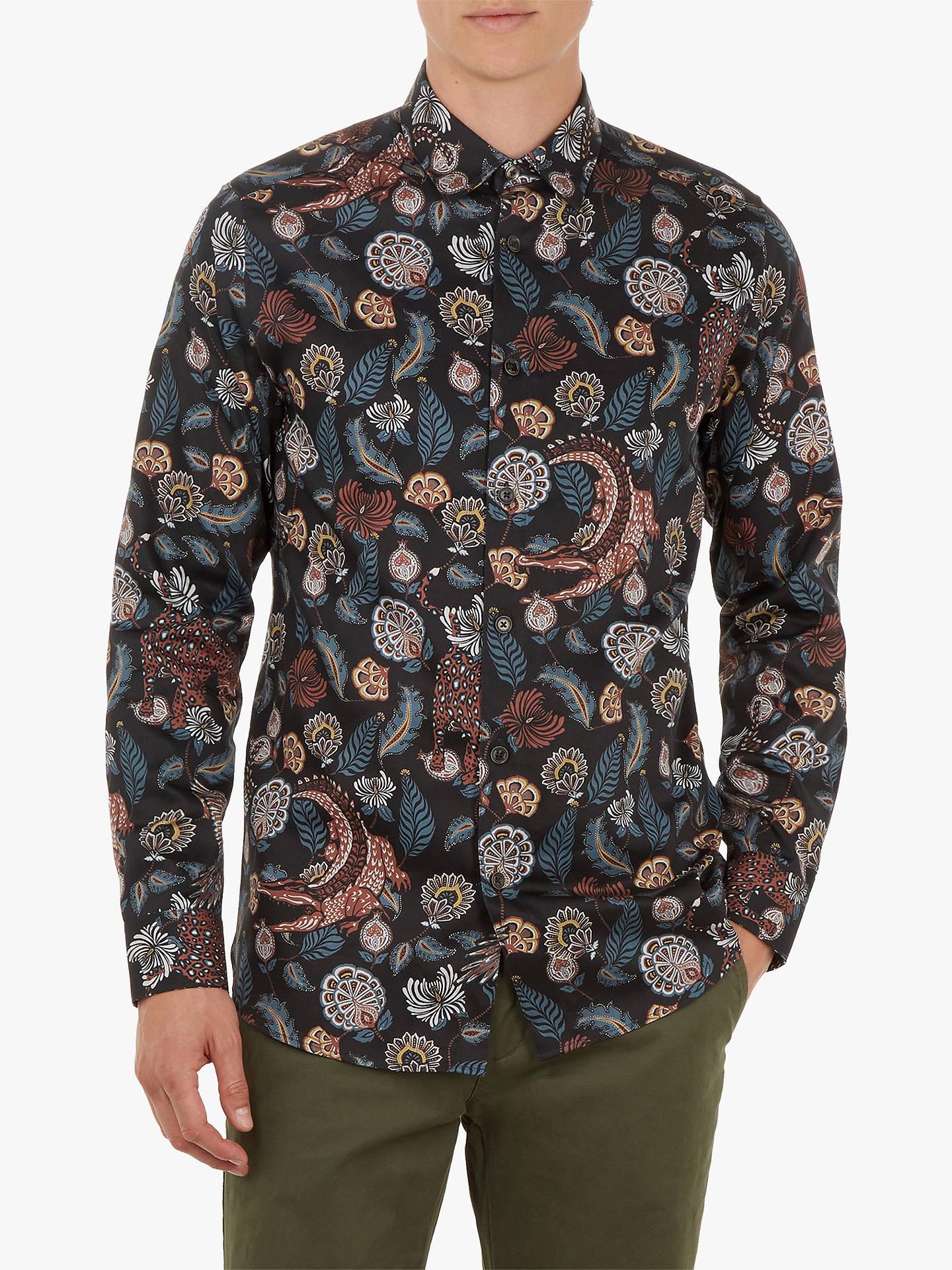 585c9e48238c Buy Ted Baker Vauxhal Animal Paisley Shirt