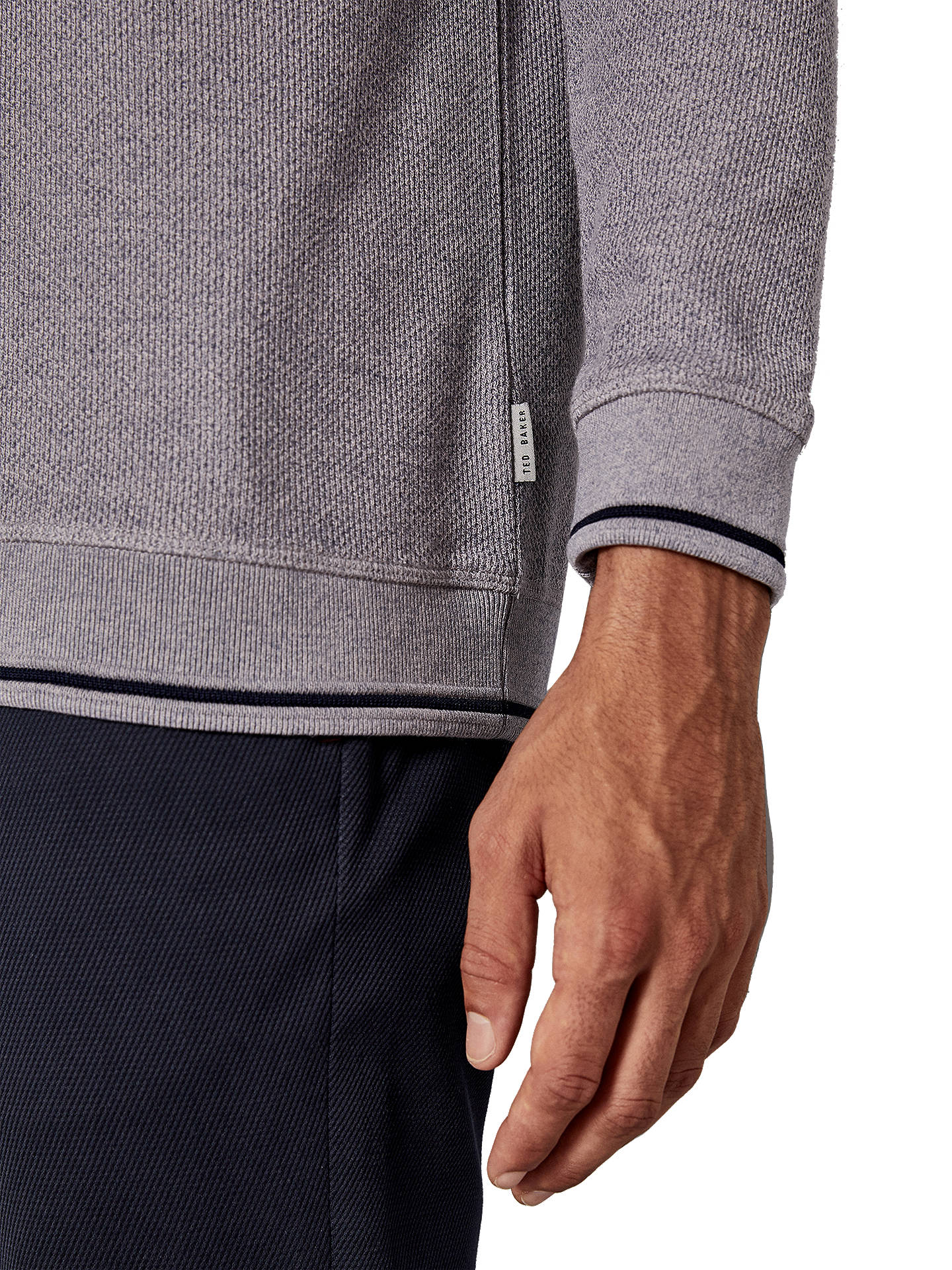 BuyTed Baker Thersty Sweatshirt, Purple Lilac, S Online at johnlewis.com
