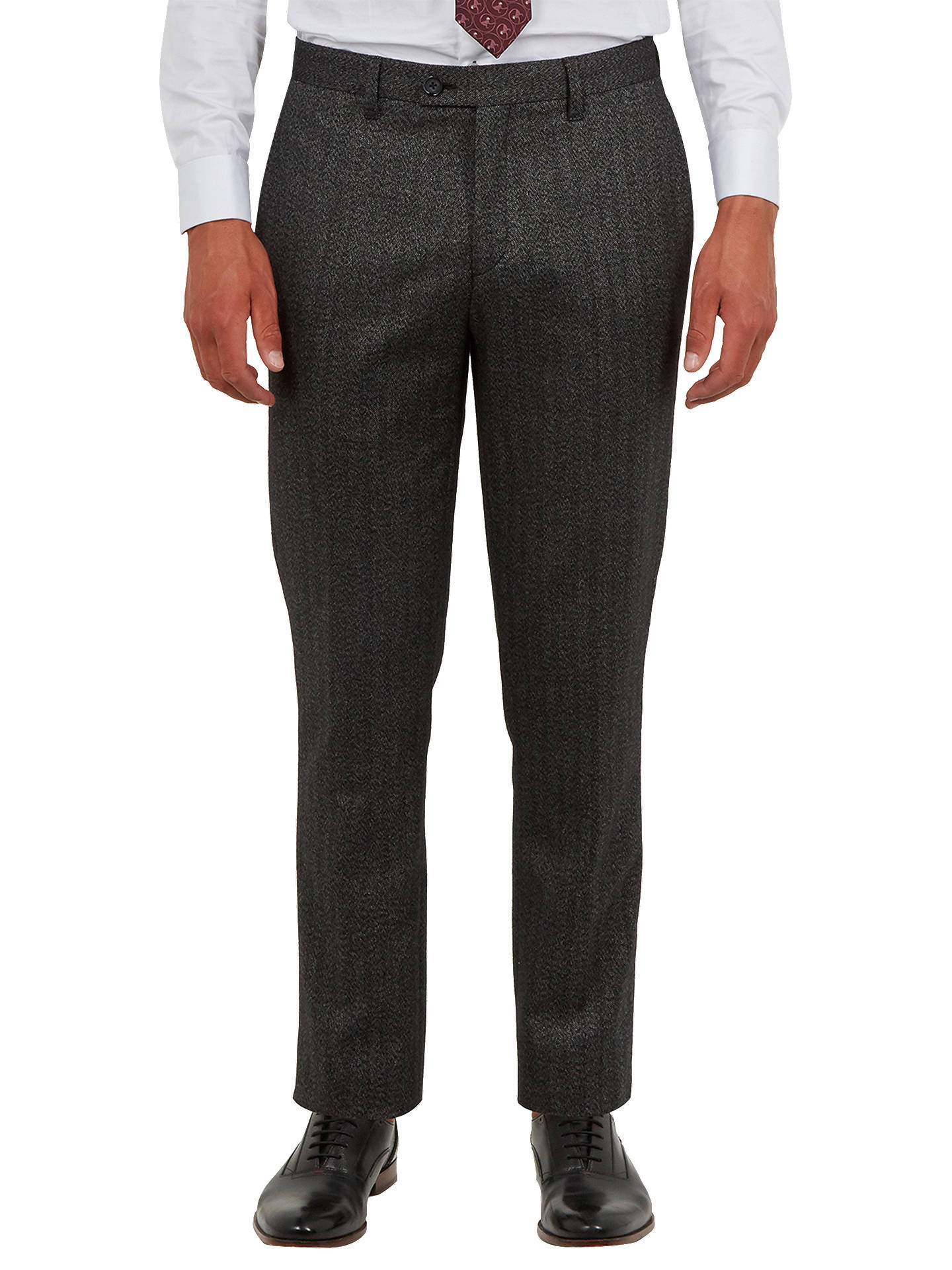 Ted Baker Wenstro Trousers Charcoal At John Lewis Amp Partners