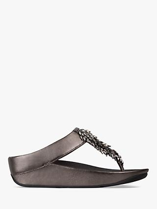 FitFlop Rumba Embellished Toe Post Sandals