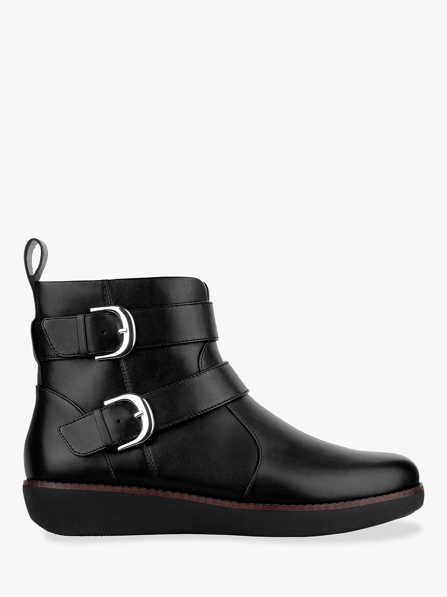 4c7c16fe111679 Buy Fitflop Laila Double Buckle Ankle Boots