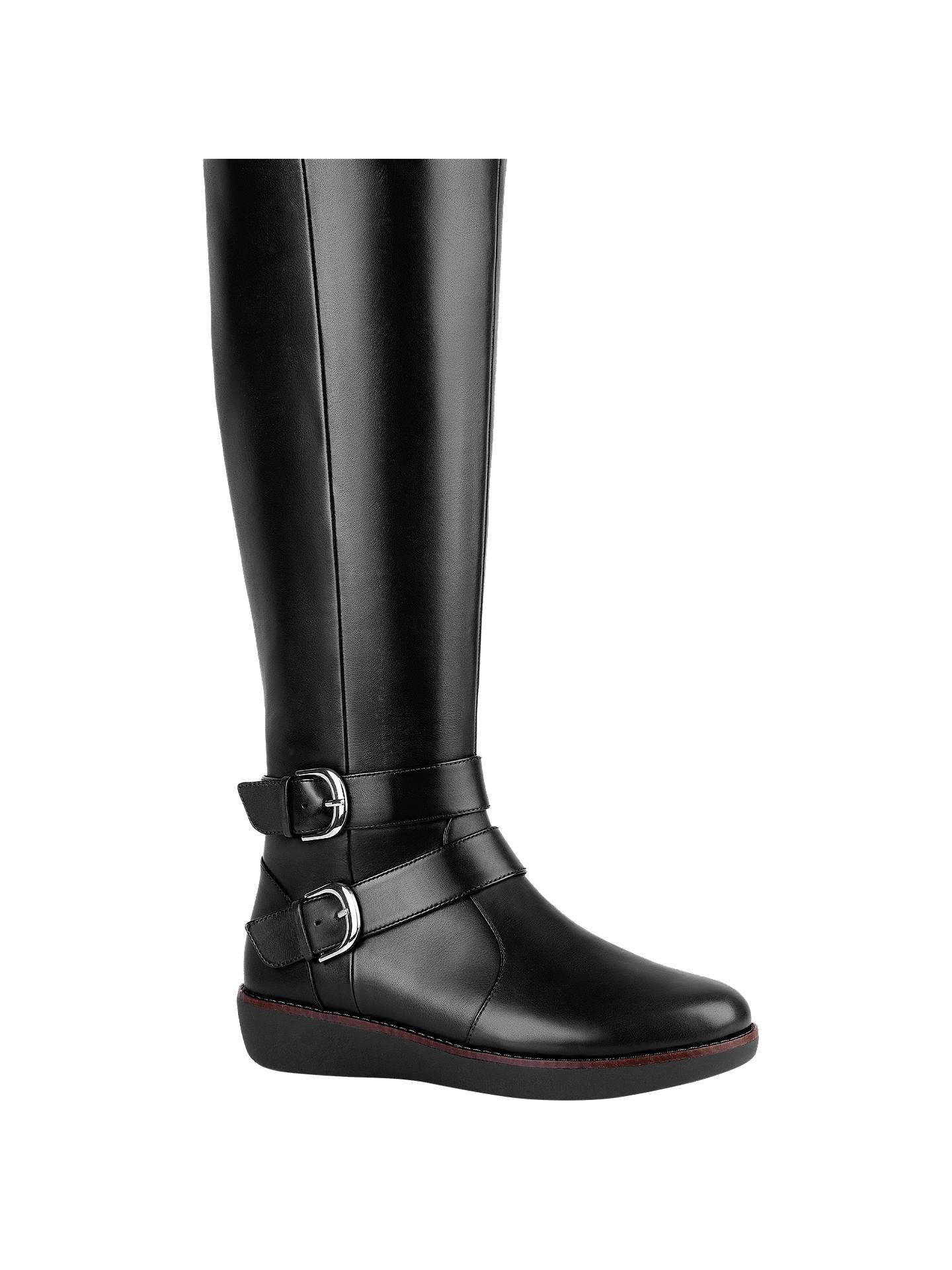 6d43811e440 Fitflop Noemi Double Buckle Long Boots at John Lewis   Partners