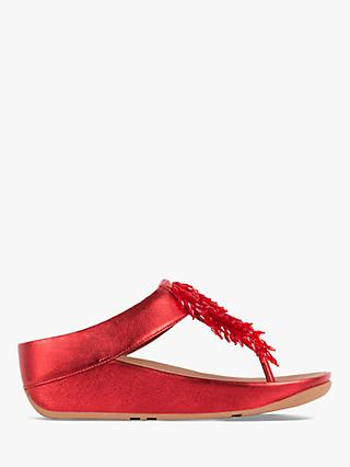 d92b0eb9a FitFlop Rumba Embellished Toe Post Sandals