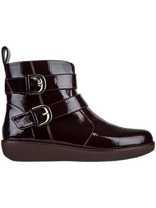 c518143794c Fitflop Laila Double Buckle Ankle Boots
