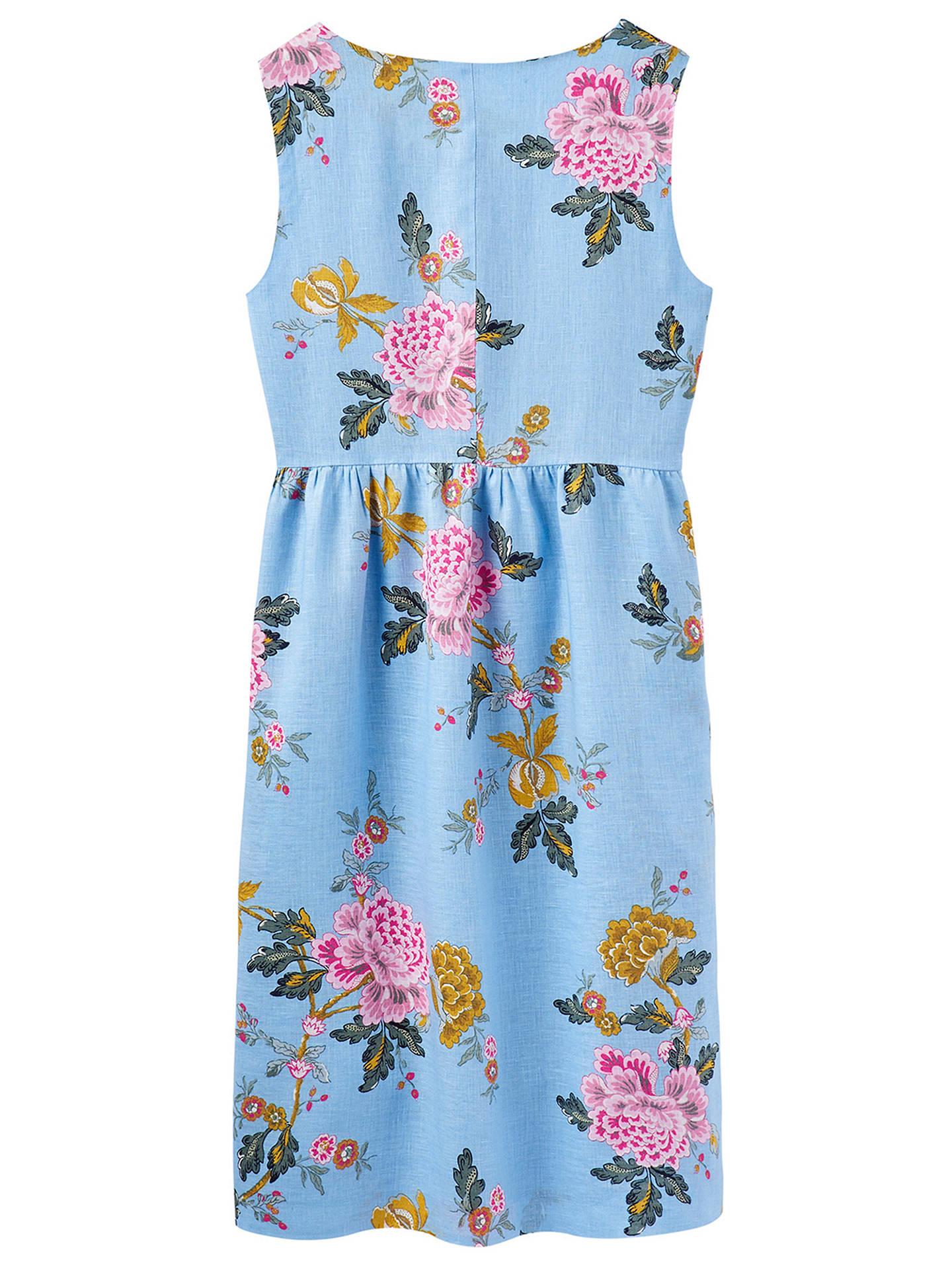 d4fc77c5c3f ... Buy Joules Lisa Sleeveless Button Down Linen Dress