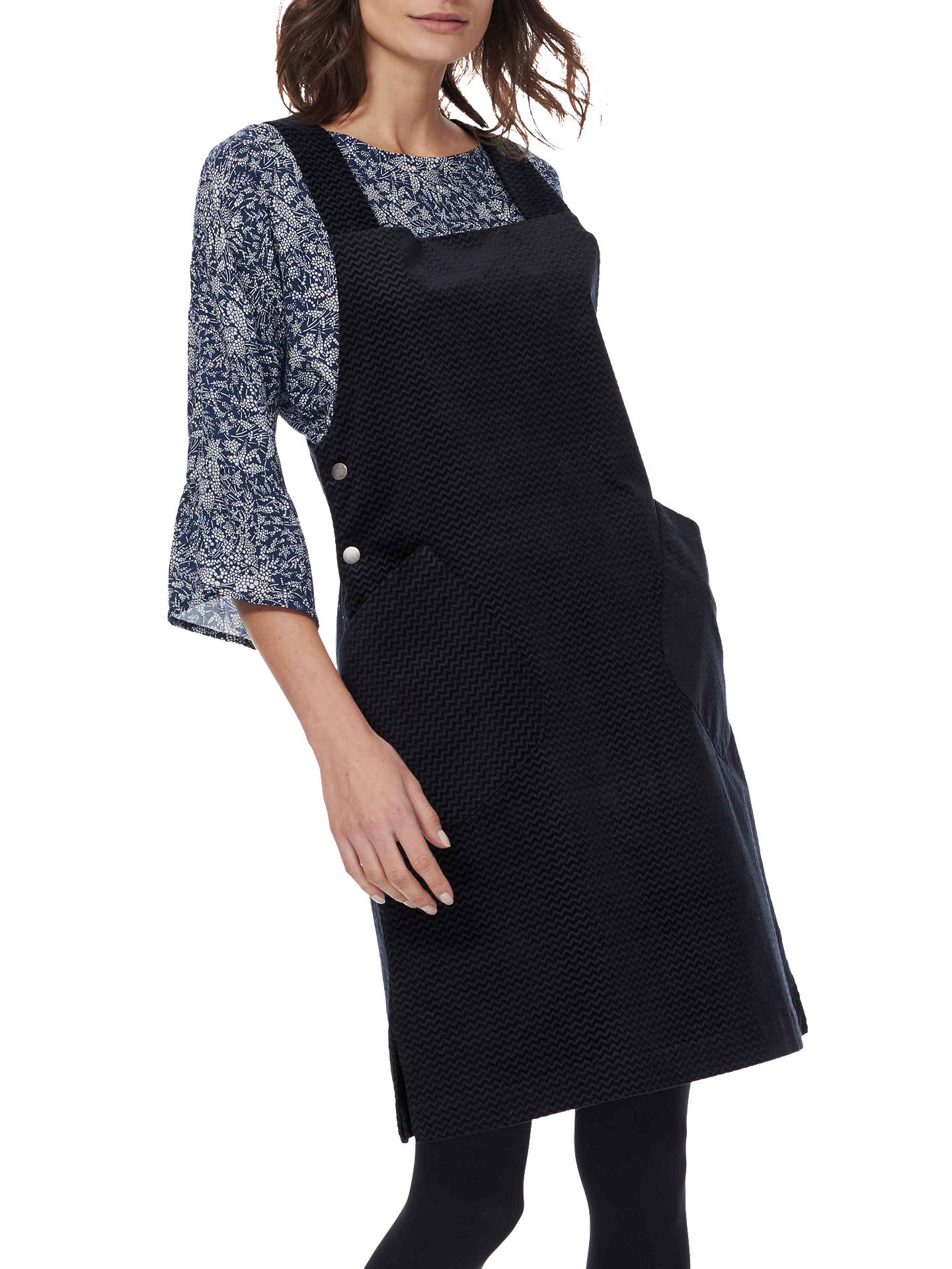 c58750ae4f Brora Herringbone Pinafore Dress