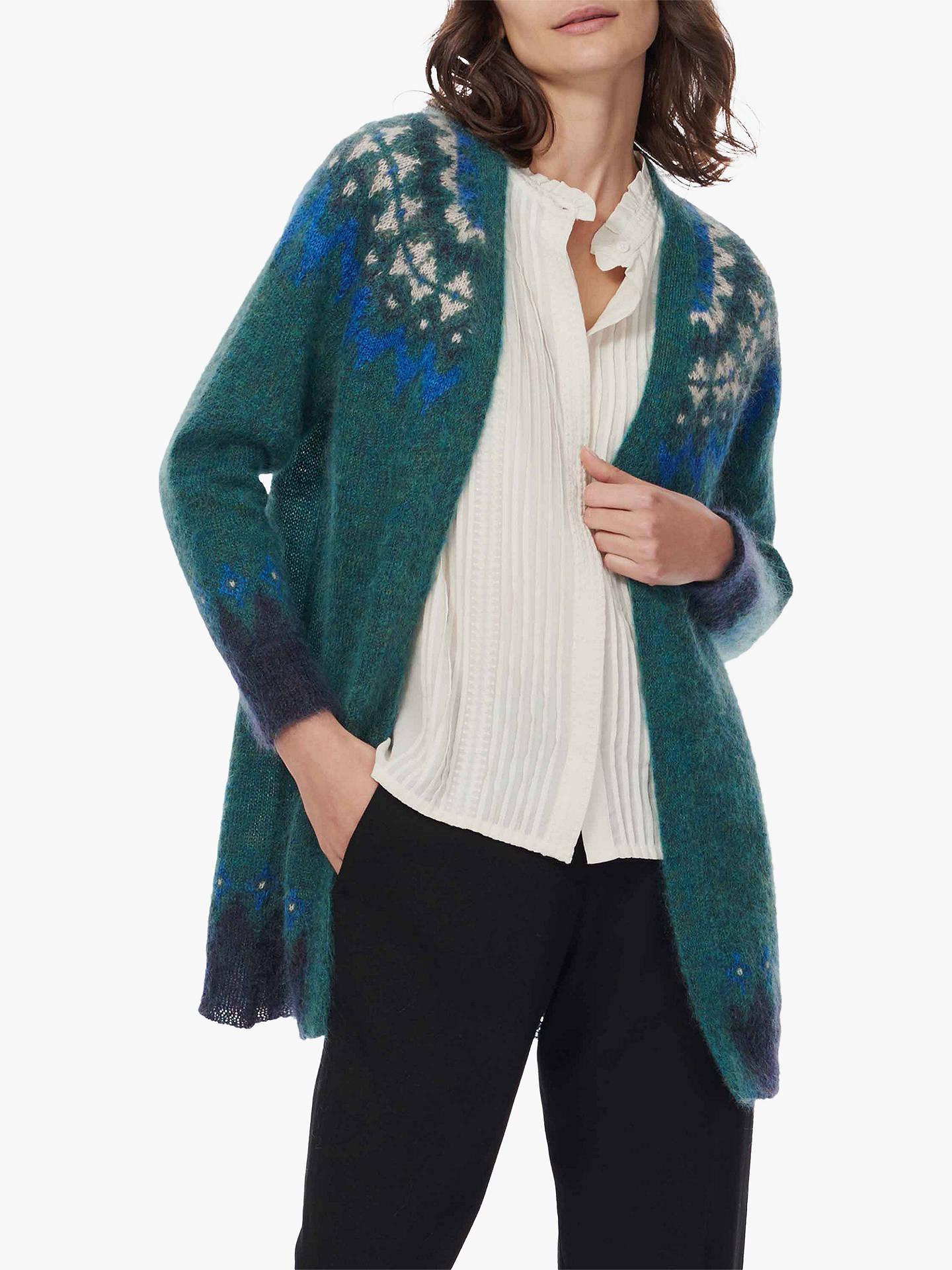 BuyBrora Mohair Icelandic Knit Cardigan e3261d588