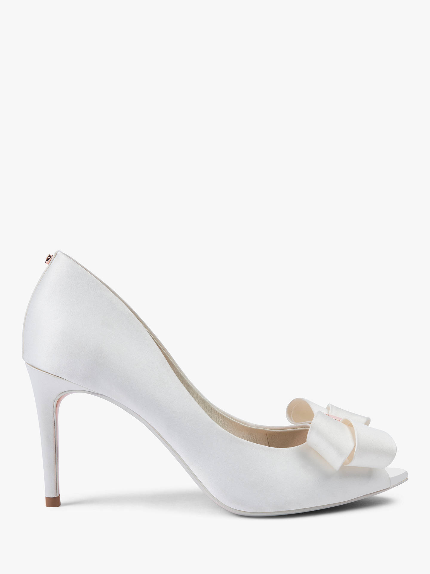 e0e8057886eb2 Buy Ted Baker Vylett Bow Peep Toe Court Shoes