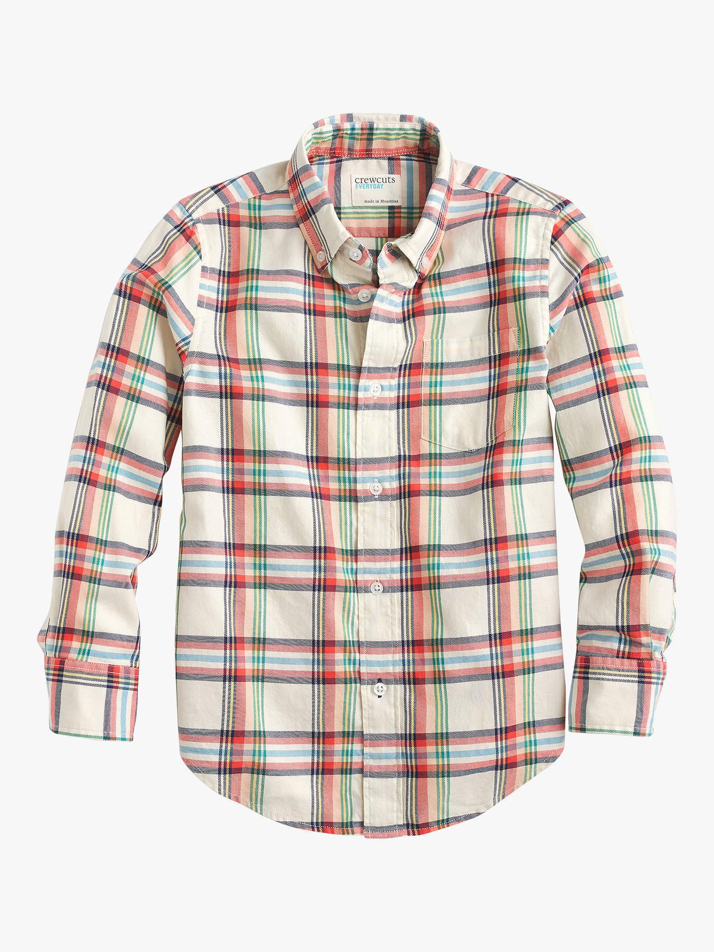 cbef530297 Buycrewcuts by J.Crew Boys  Plaid Flannel Shirt