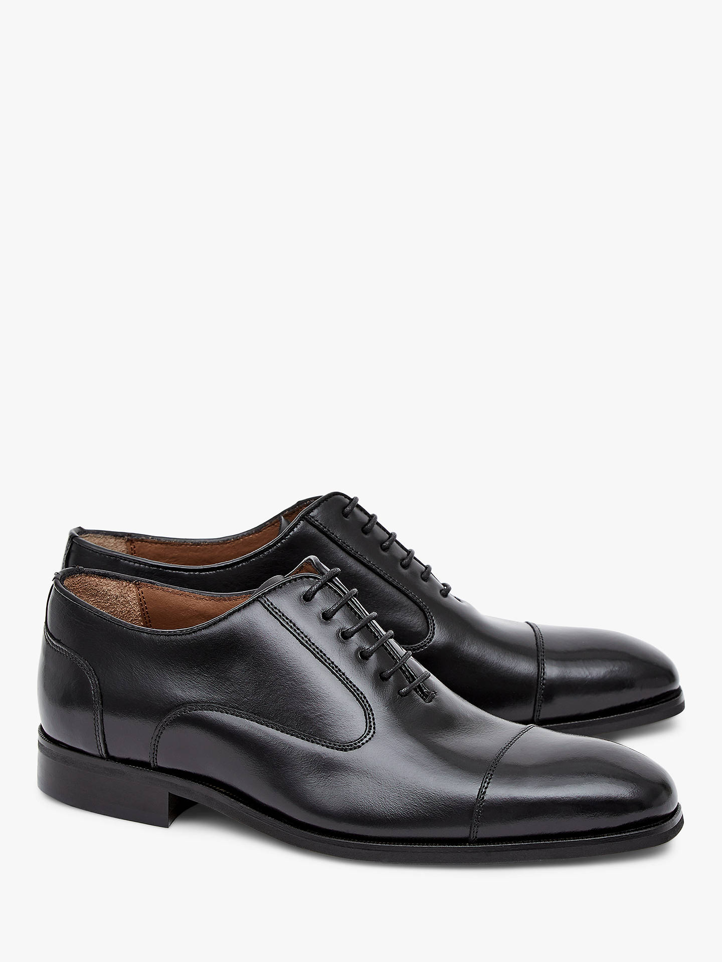 BuyReiss Reston Oxford Shoes, Black, 7 Online at johnlewis.com