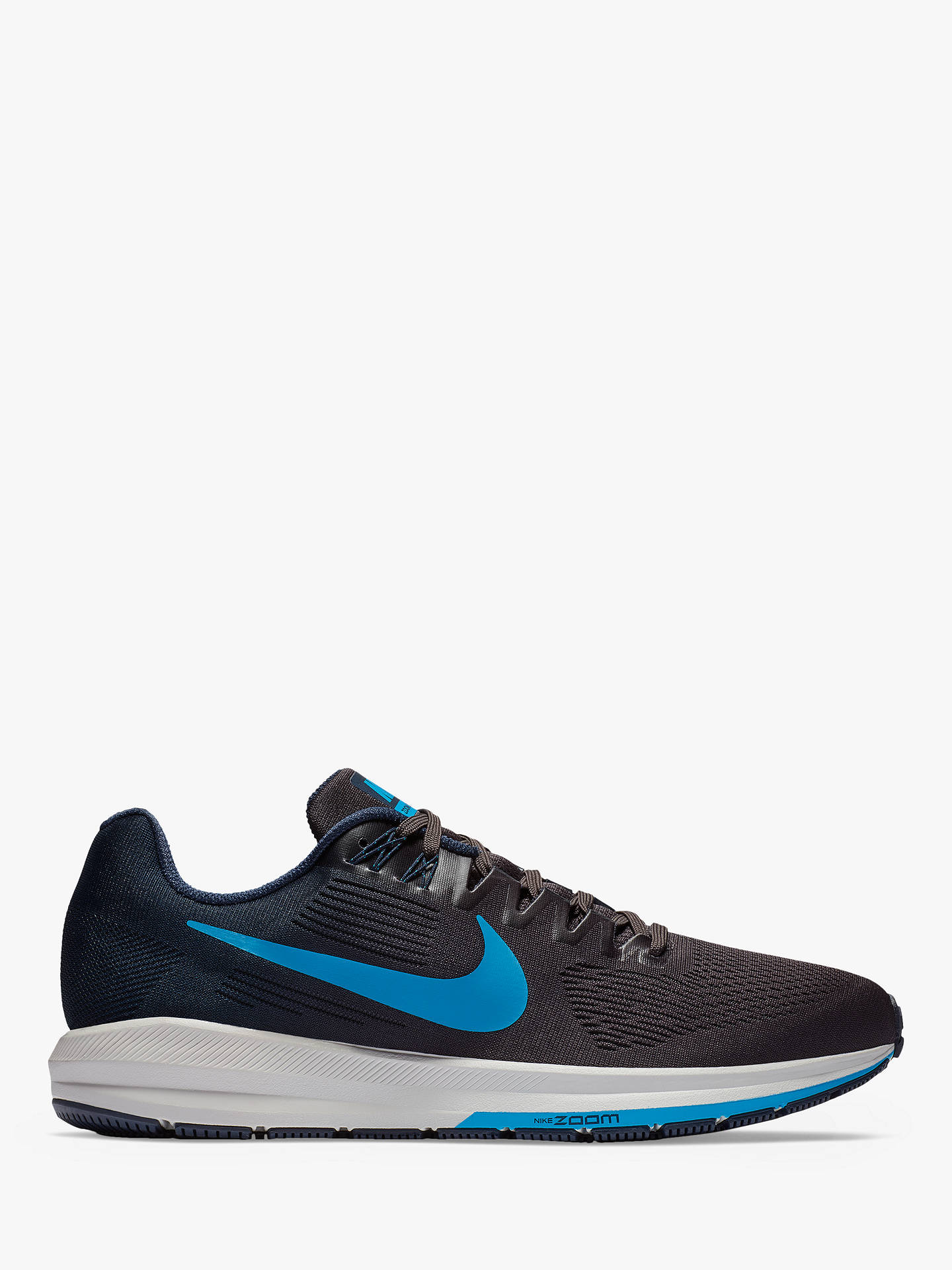 BuyNike Air Zoom Structure 21 Mens Running Shoes, Obsidian BlueGrey, 11  Online ...