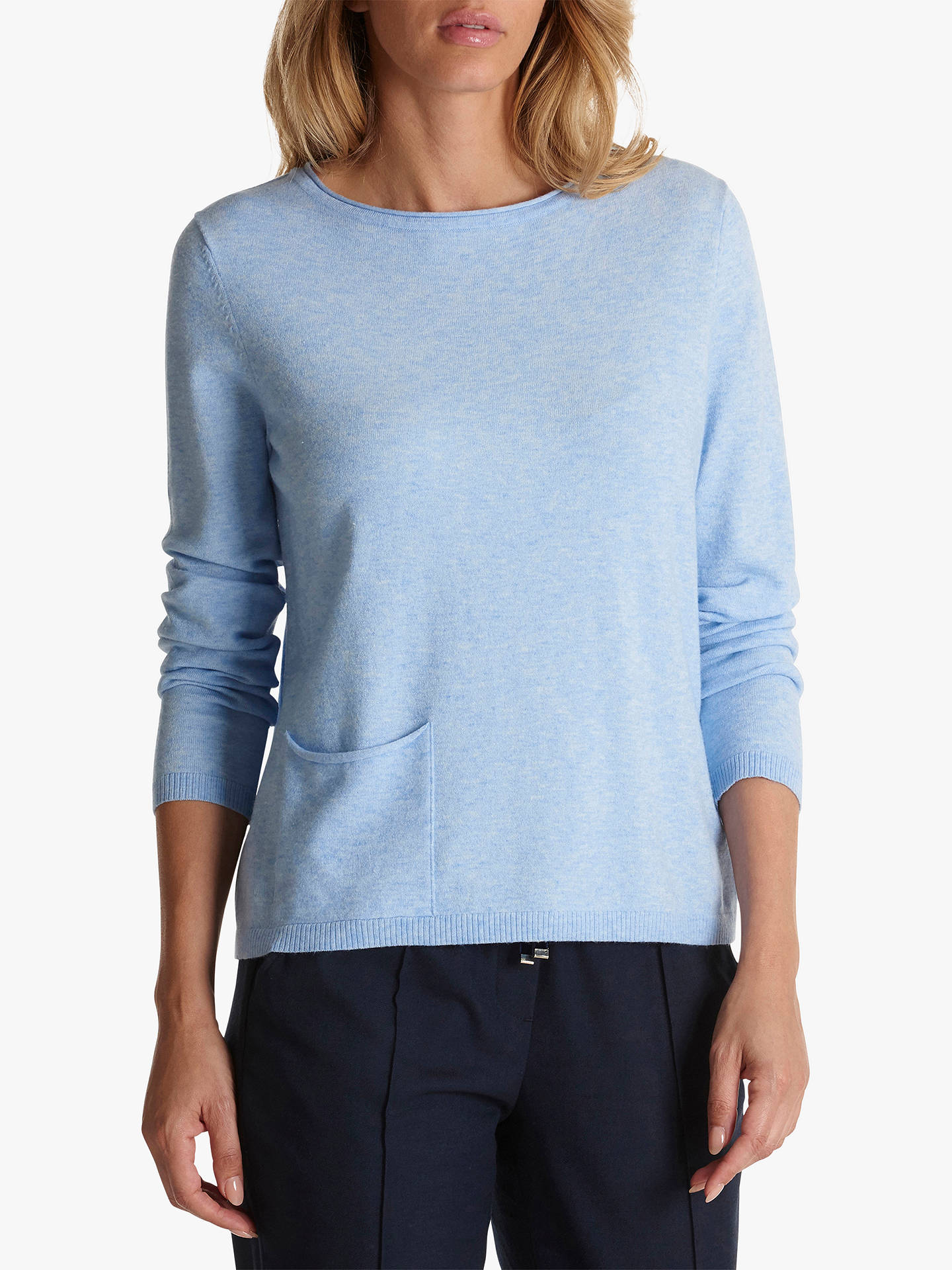 BuyBetty Barclay Fine Knit Jumper, Light Opal, 12 Online at johnlewis.com