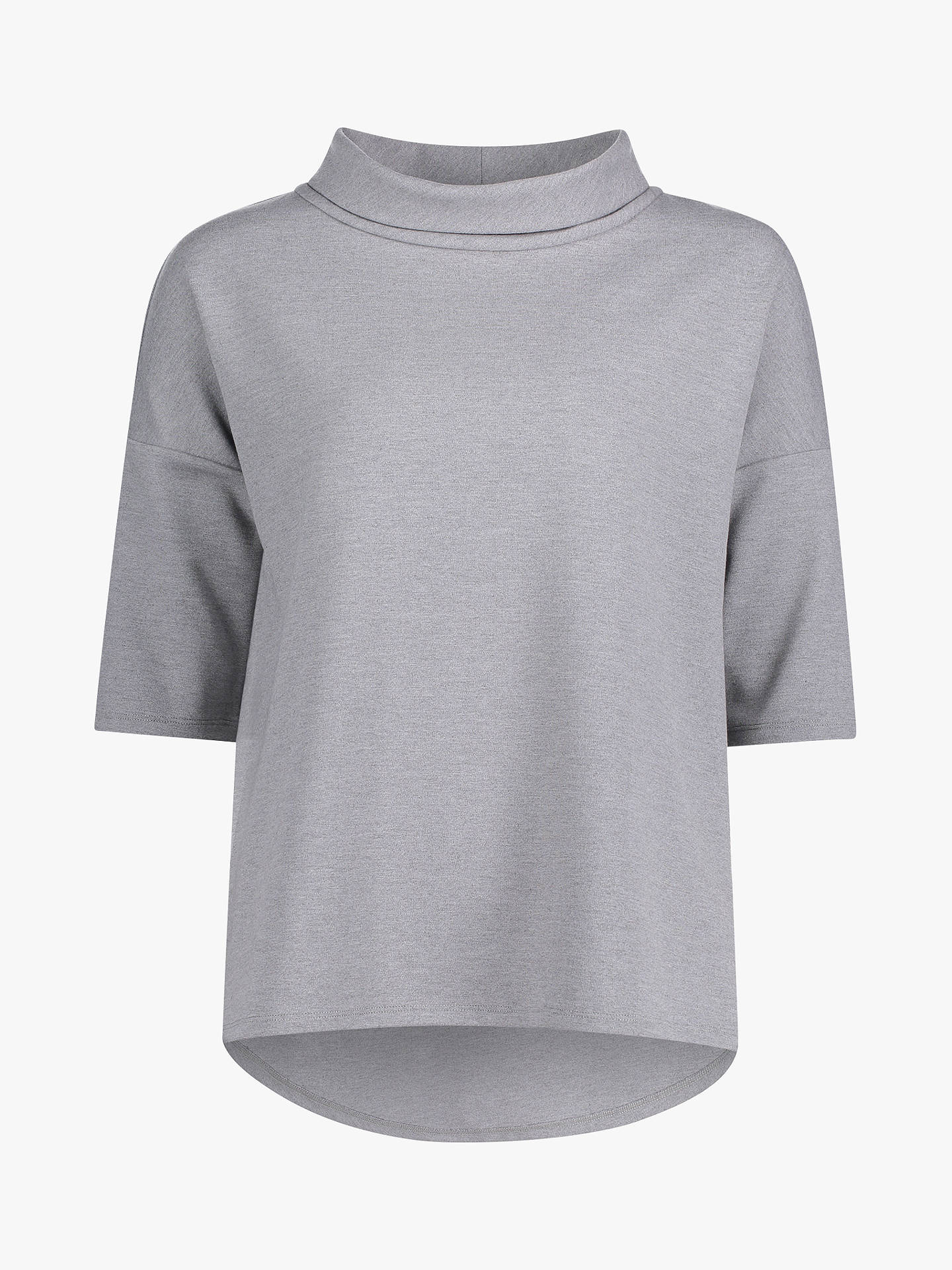 Buy Betty Barclay Cowl Neck Top, Grey Melange, 10 Online at johnlewis.com