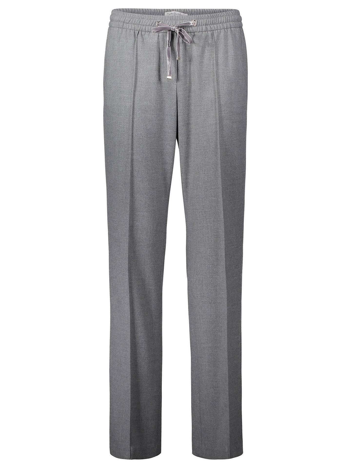 Buy Betty Barclay Skinny Pull-On Trousers, Middle Grey Melange, 10 Online at johnlewis.com
