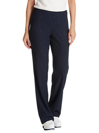 Betty Barclay Skinny Crêpe Trousers, Dark Sky