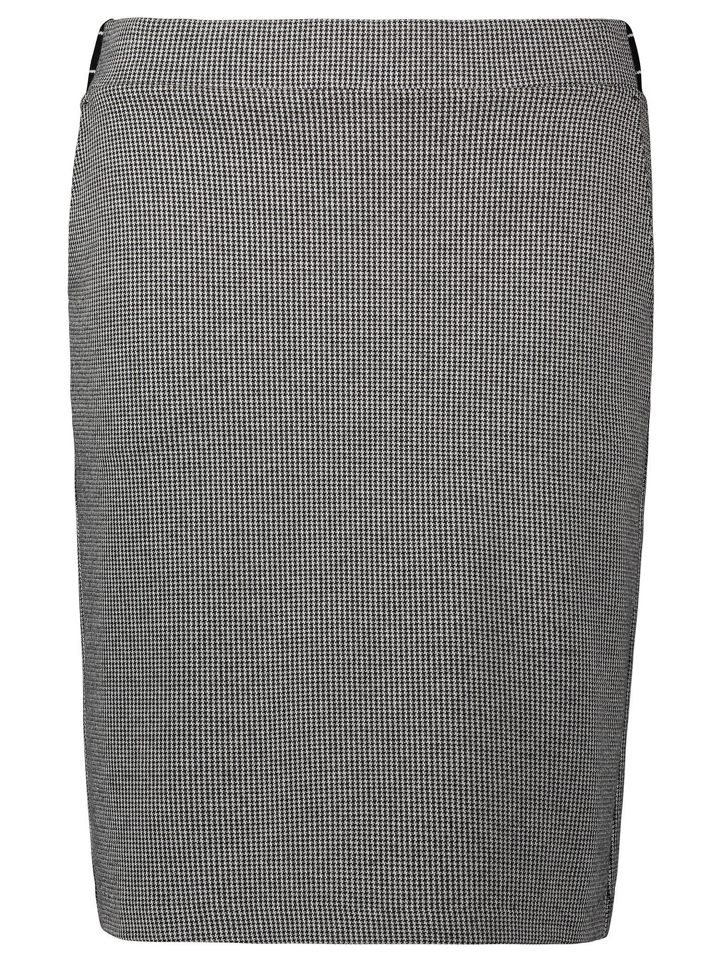 BuyBetty Barclay Houndstooth Skirt, Black/Cream, 10 Online at johnlewis.com