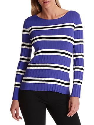 Betty Barclay Knitted Striped Jumper