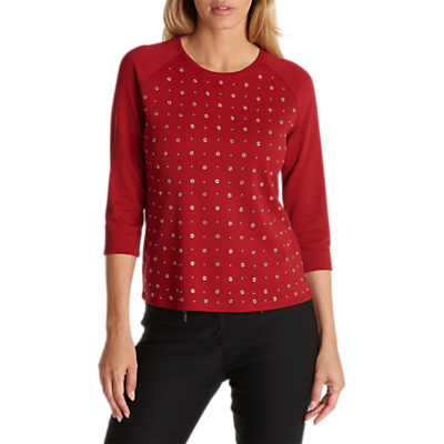 Betty Barclay Embellished Studded Top