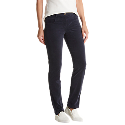 Betty Barclay Brushed Cotton Jeans, Dark Sky