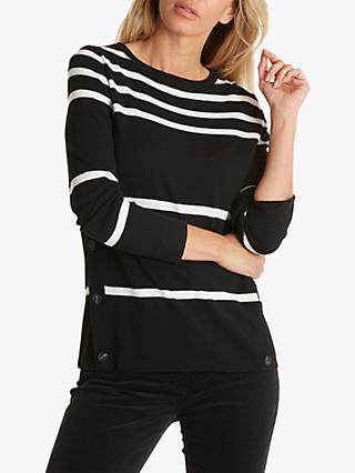 Betty Barclay Striped Button Jumper