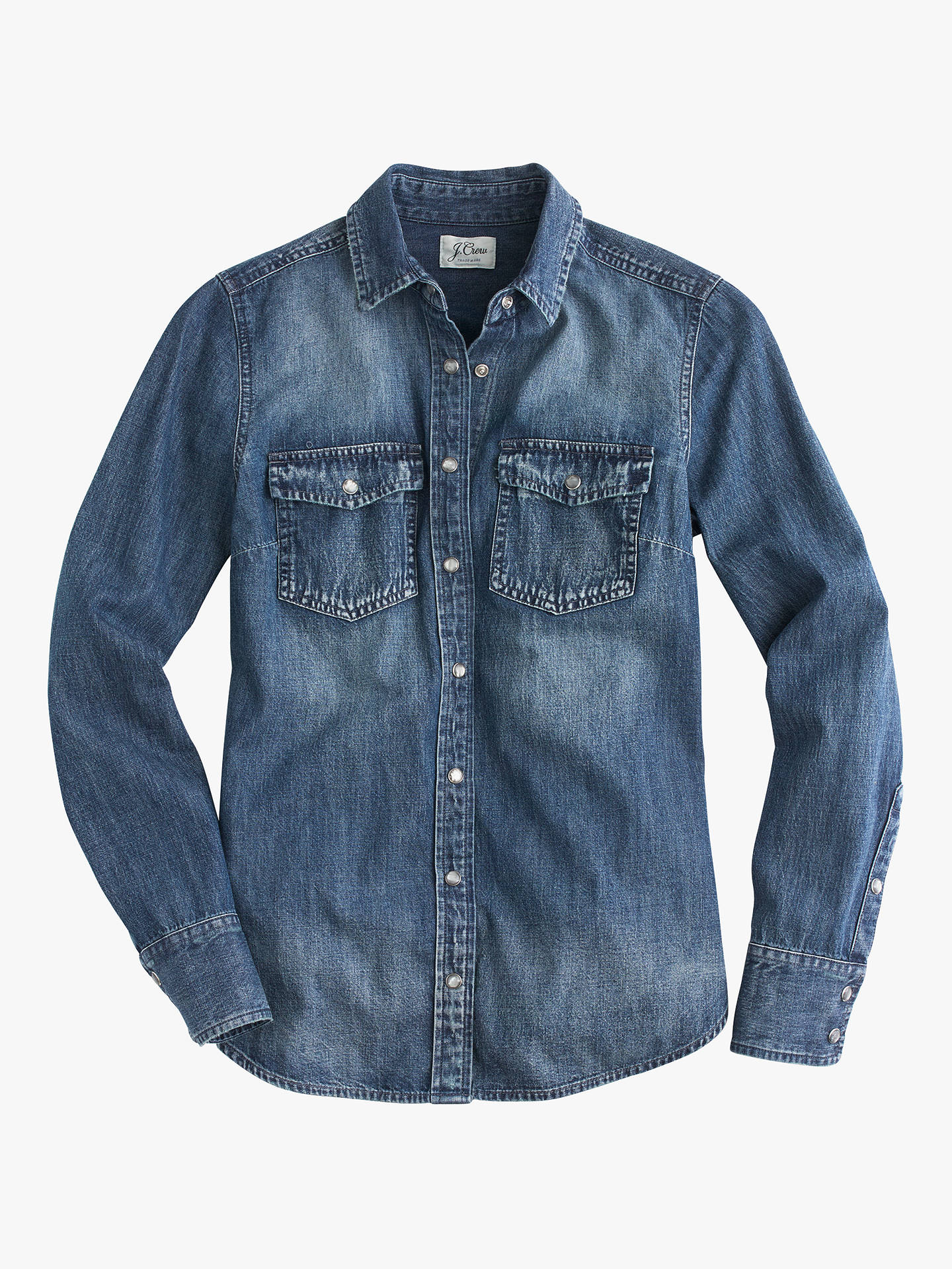 40fe8dc8328 Buy J.Crew Washed Western Chambray Shirt