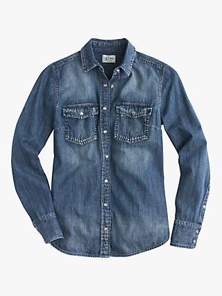 b5023ecce657f4 J.Crew | Women's Shirts & Tops | John Lewis & Partners