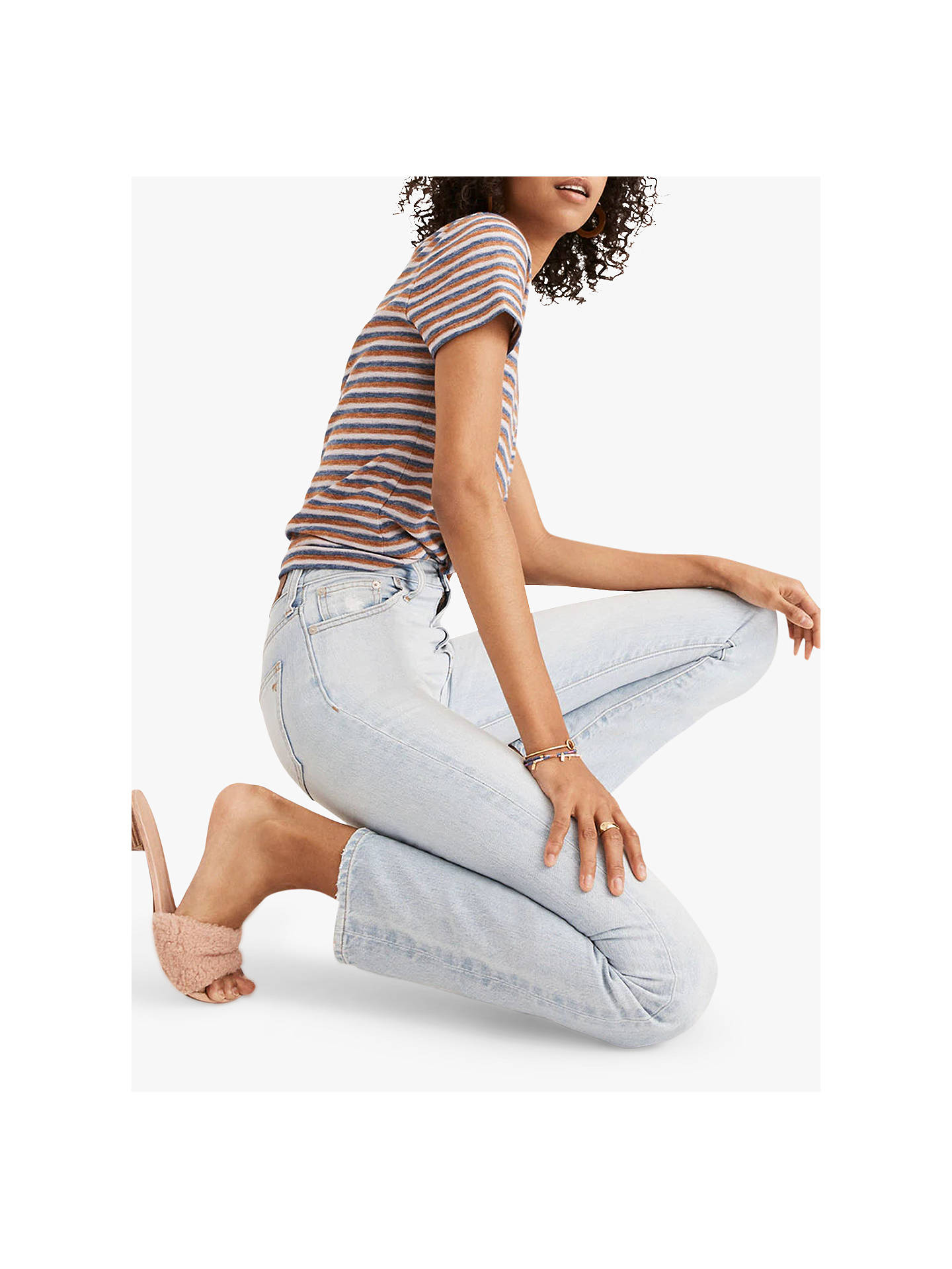 Buy Madewell The Perfect Summer Jeans Fitzgerald Wash 23 Online At Johnlewis