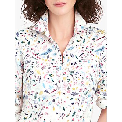 Joules Classic Botanical Print Shirt, Multi