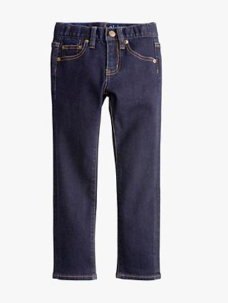 crewcuts by J.Crew Boys' Rinse Wash Runaround Skinny Fit Jeans, Blue