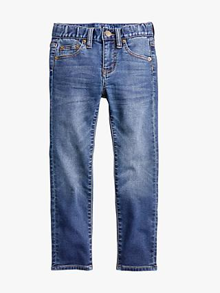 crewcuts by J.Crew Boys' Ollie Runaround Skinny Fit Jeans, Washed Blue