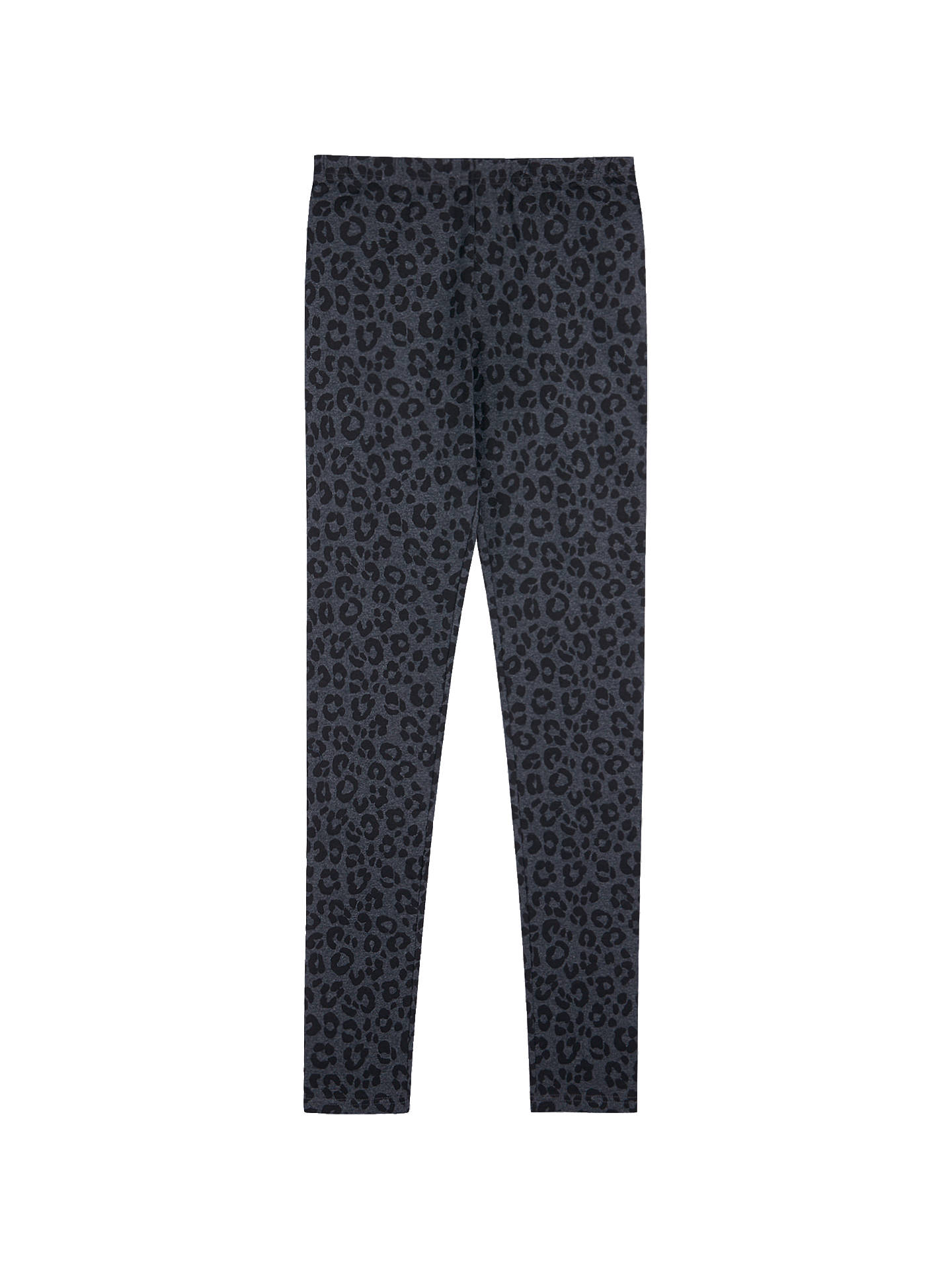 d9edda6d969901 ... Buy hush Leopard Printed Leggings, Black, XS Online at johnlewis.com