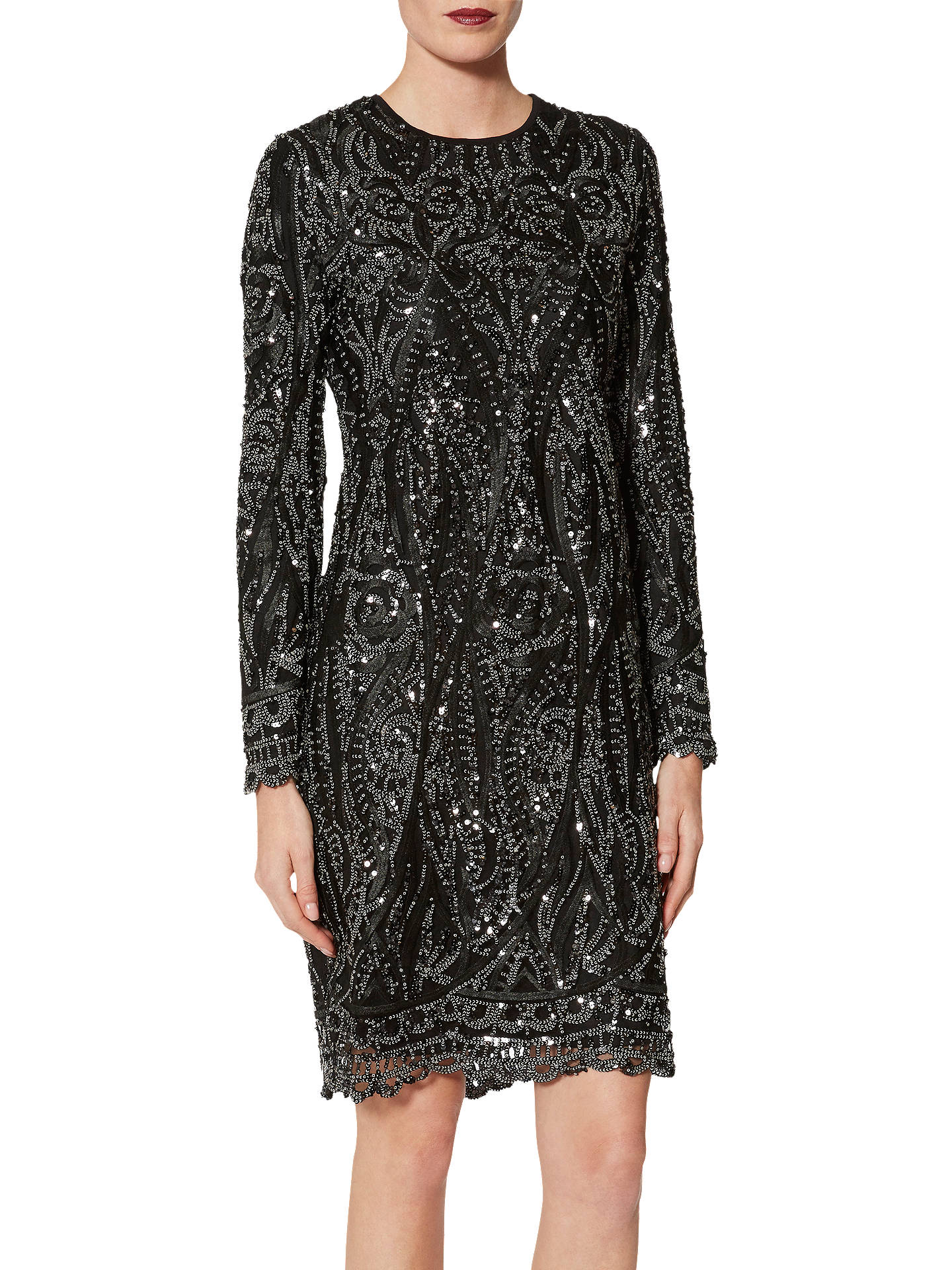 0c227cef4da Buy Gina Bacconi Marzena Swirl Embroidered Dress