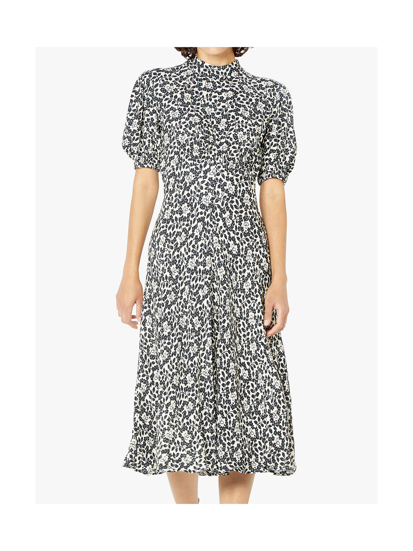 e3e6cf0816f2a Buy Ghost Luella Dress, Mini Helena Ditsy, XS Online at johnlewis.com ...
