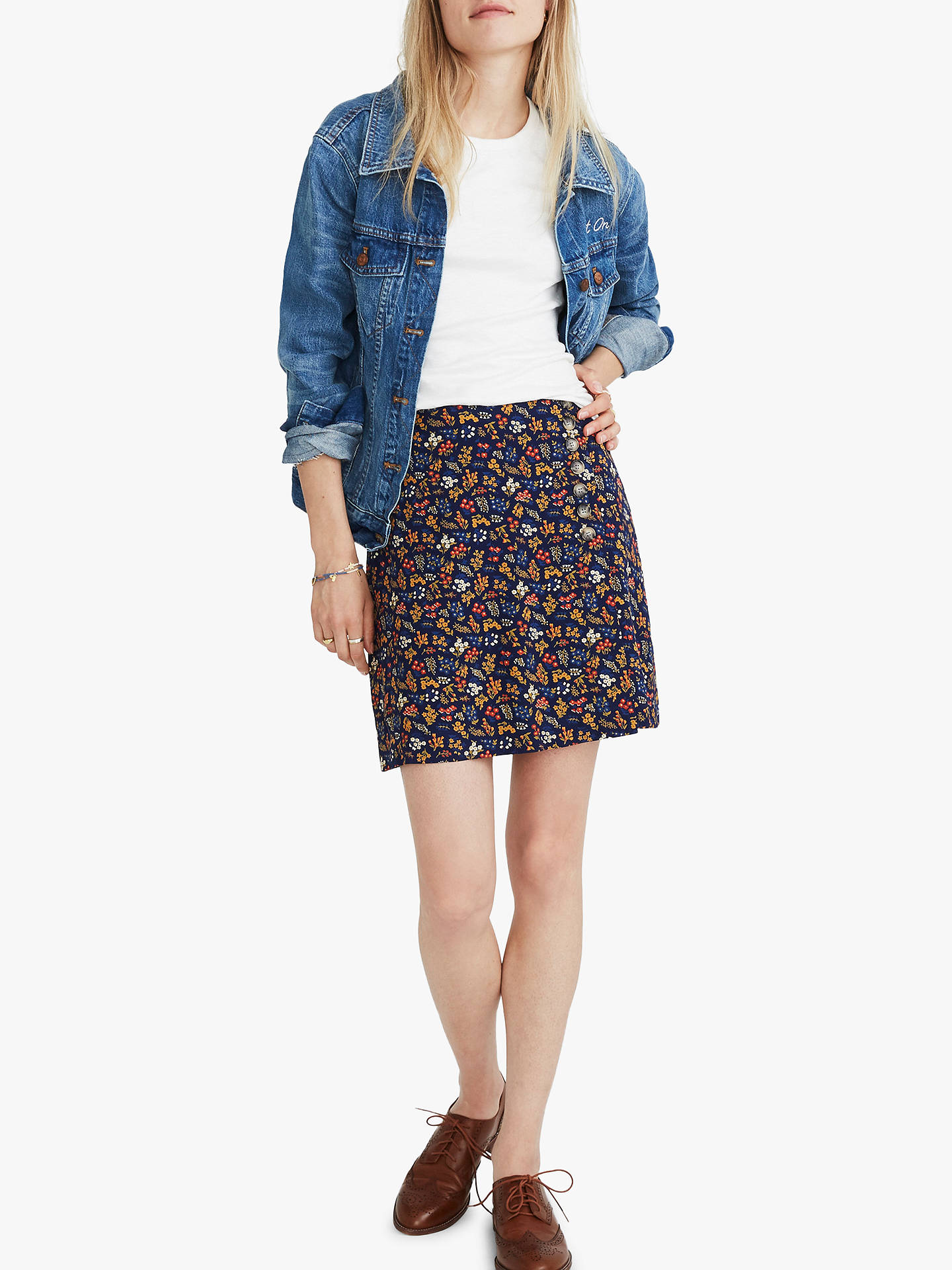 1f5a62e442 Buy Madewell Side Button Skirt
