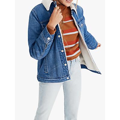 Madewell Oversized Jean Jacket, Pinehill Wash