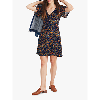 Madewell Cross Front Dress, Multi