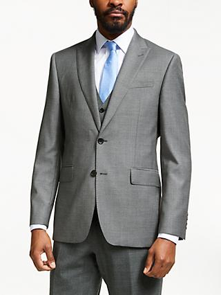 John Lewis & Partners Dove Suit Jacket, Grey