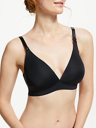 John Lewis & Partners Moulded Maternity Bra, Black