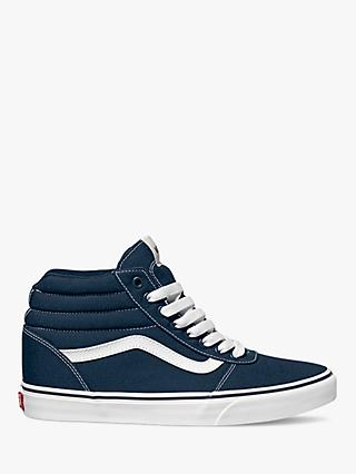 Vans Ward High Top Trainers, Blue