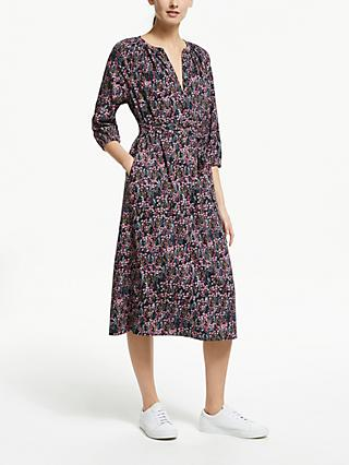 Collection WEEKEND by John Lewis Dahlia Floral Smock Dress, Multi