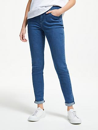 Collection WEEKEND by John Lewis Liza Slim Leg Jeans, Mid Blue