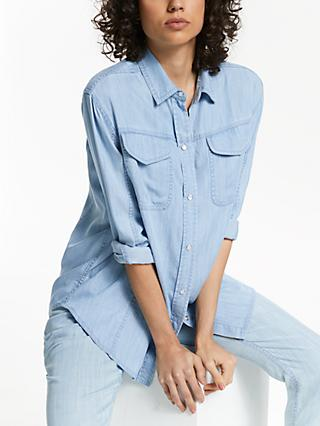 AND/OR Hadley Lyocell Shirt, Light Blue